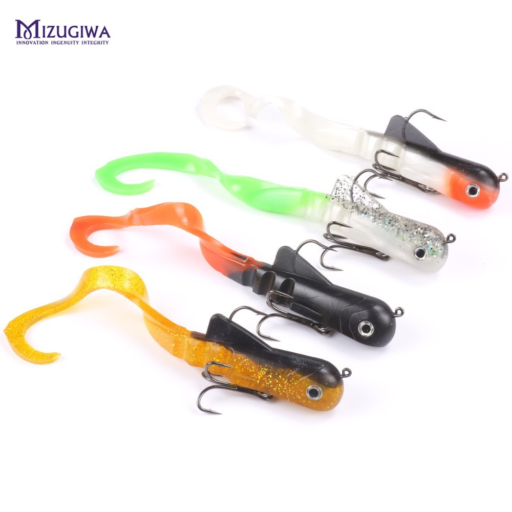 Mizugiwa soft lure fishing soft bait zabder freshwater for Best bait for freshwater fishing