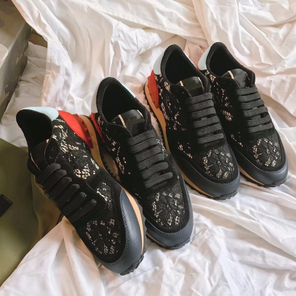 2018 shaduo Lace-Up casual shoes nylon lace decorate shoes women shoes fashion breathable women sneaker shoes 2017 new spring imported leather men s shoes white eather shoes breathable sneaker fashion men casual shoes