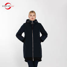MODERN NEW SAGA Women Clothing Female Winter Coat Warm Hooded Jacket Thickening Cotton Padded Fashion Parkas Outwear