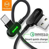 MCDODO 3 м usb type C Быстрая зарядка USB C кабель type-c кабель для передачи данных зарядное устройство для Android USB-C Micro USB кабель для samsung S8 S9 Note 8