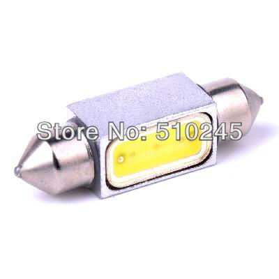 10X Auto DC 12V white Car Styling C5w festoon 41mm led C5w 1.5W high power led lamp light bulbs Free shipping