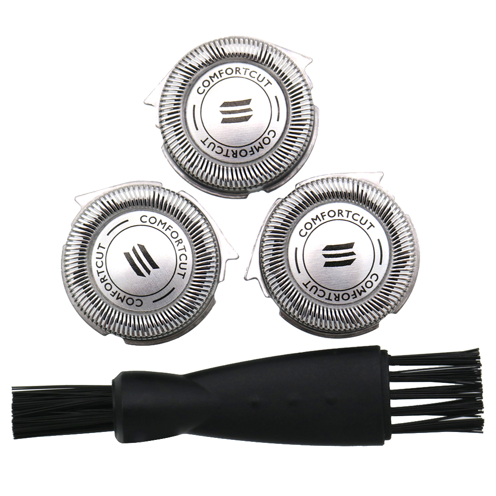 3pcs Shaver Razor Blades Heads Replacement Shaving For Philips HQ8 HQ7180 HQ7140HQ8 HQ7180 HQ7140 HQ6090 HQ6075 HQ64