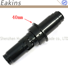 On sale Industry Lens 30X -200X Magnification Adjustable Zoom 40mm C-mount Lens Glass for Industry Microscope Camera Eyepiece Magnifi