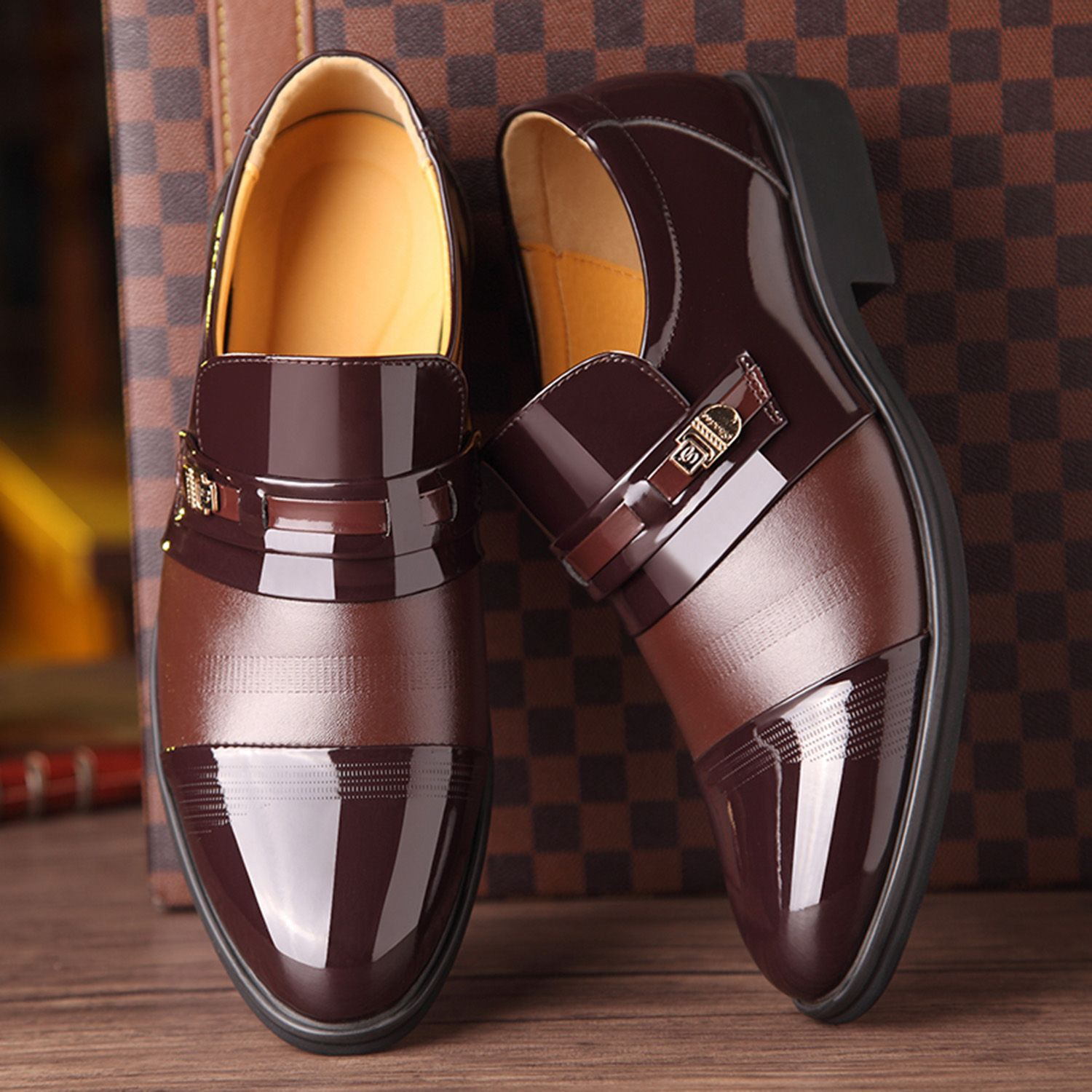 f7c0ee6ed5a DCOS Dress Shoes Oxford Shoes Lace Up Loafer Comfortable Classic Formal  Fashion Modern Formal Business Shoes