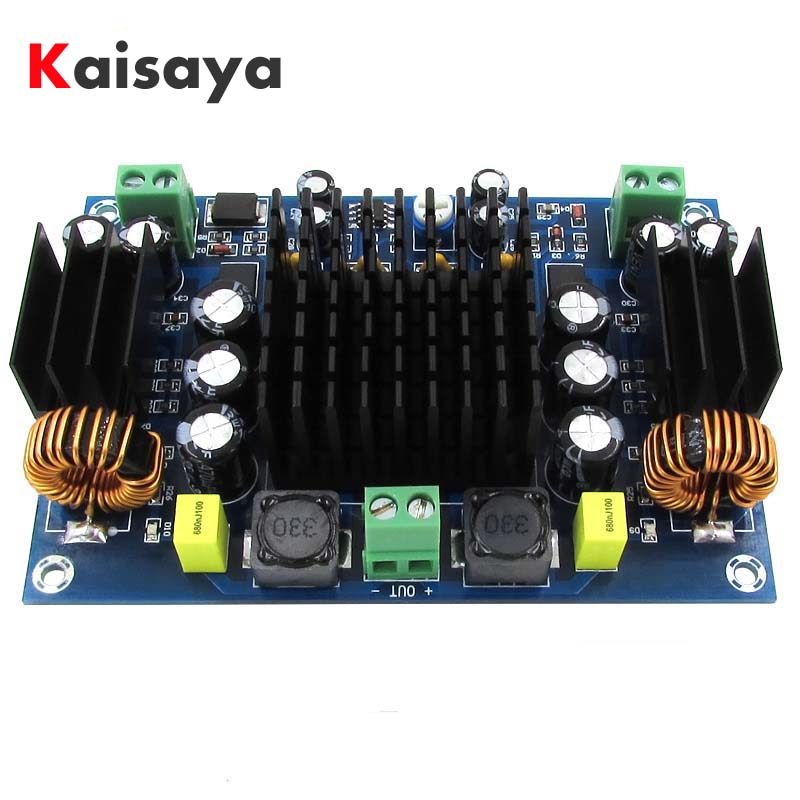XH-M545 DC 12V 24V 150W TPA3116D2 Mono Channel Digital Power Audio Dual booster system Amplifier Board B4-005 bravo audio booster guitar effector blue transparent dc 12v