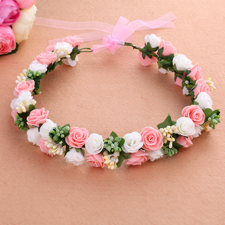 Admirable Online Buy Wholesale Foam Flower Tiaras From China Foam Flower Hairstyle Inspiration Daily Dogsangcom