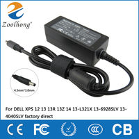 19 5V 2 31A 45W Laptop AC Power Adapter Charger For DELL XPS 12 13 13R