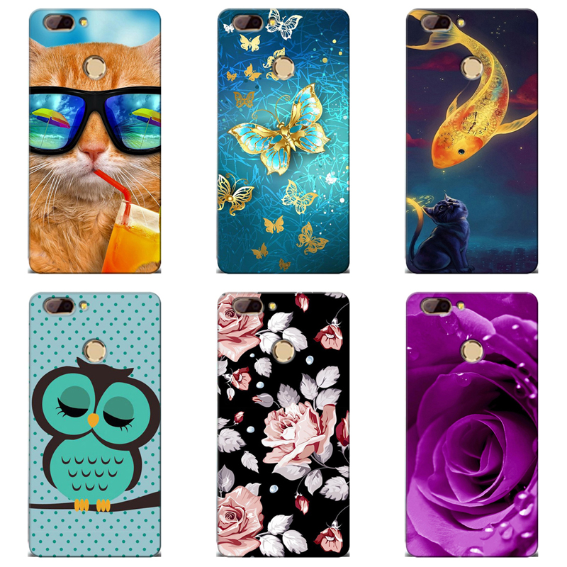Good Quality Colorful Cases For Oukitel U20 Plus Printing Drawing Mobile Phone Girls Full Back Cover Silicone Soft Tpu Case Fitted Cases