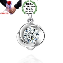 OMHXZJ Wholesale jewelry woman girl 925 sterling silver pendant Charms PE ( NO Chain Necklace )