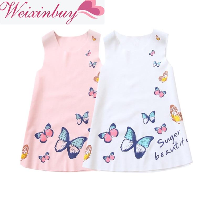 1bb5ae6b2f685 US $3.15 New Fashion Kids Baby Girls Princess Dresses Lovely ...