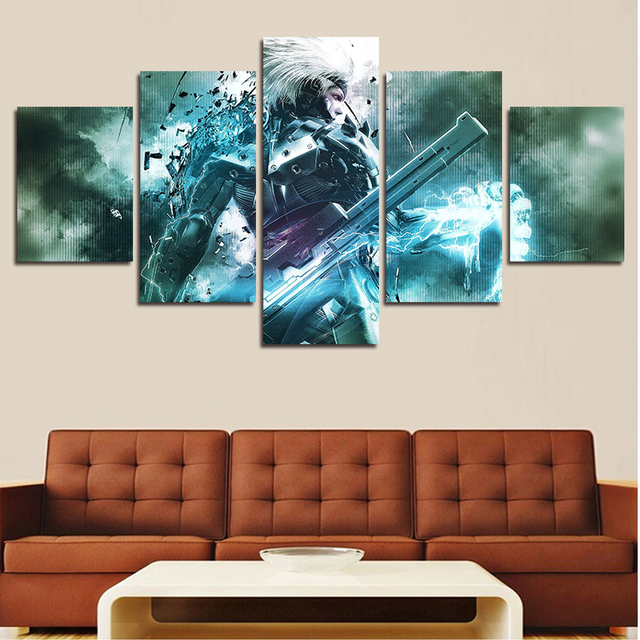 Wall Art 2016 Unframed High Quality Modern On Canvas Metal Gear Oil Painting Hanging