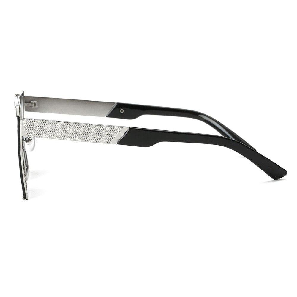 6ee01edd06525 ROZA Óculos De Sol Dos Homens Lente Plano Quadro de Cobre Estilo Steampunk  Oversize Óculos Marca Designer Óculos de Sol UV400 QC0436 em Óculos de sol  de ...