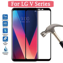 Screen Protector For LG V40 V20 Tempered Glass For LG V30 V 40 30 20 Protective Glas Case On LgV40 Lgv30 Lgv20 Film Full Cover