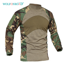 WOLFONROAD Men Spring Autumn Long Sleeve T-Shirt Outdoor Spo