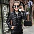 Плюс Размер 2016 Мода Леди Короткие Куртки Зима Осень Пальто Женщин 90% Белая Утка Вниз Толстовки Пальто