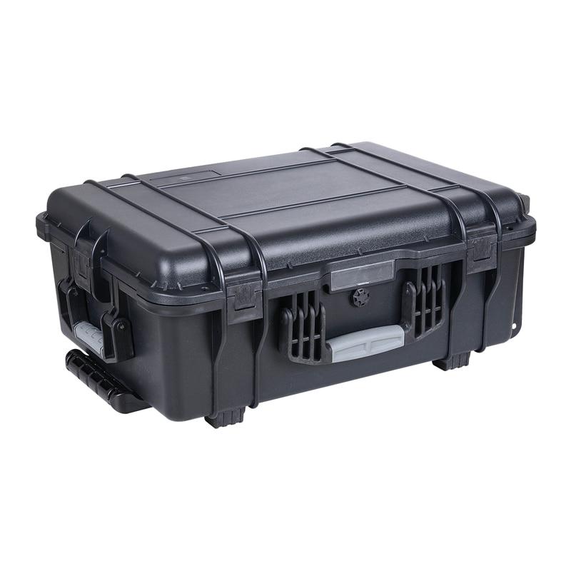 SQ5206 Wheeled Waterproof Transport Case With Standard Cube Foam