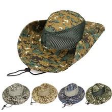 Equipo de camping supervivencia sombrero de pescador Vacaciones de sol  sombrero de pescador Unisex gorra 5f847fe9a2d