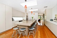 2019 традиционные кухонной мебели Новый кисти для век белый лакированная ДВЕРЬ современные кухонные шкафы L1606015