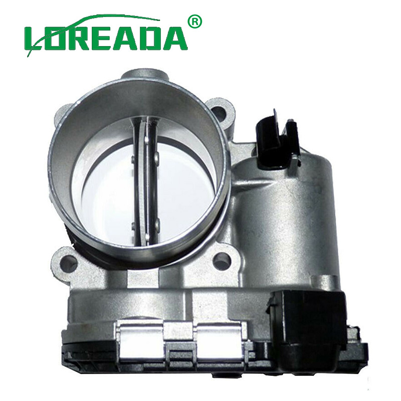 US $61 3 11% OFF|31216665 New 57mm Diesel Electronic Throttle Body Assembly  for VOLVO S60 S80 V60 V70 OE 0280750520 8692720 0281002701 TB3152-in