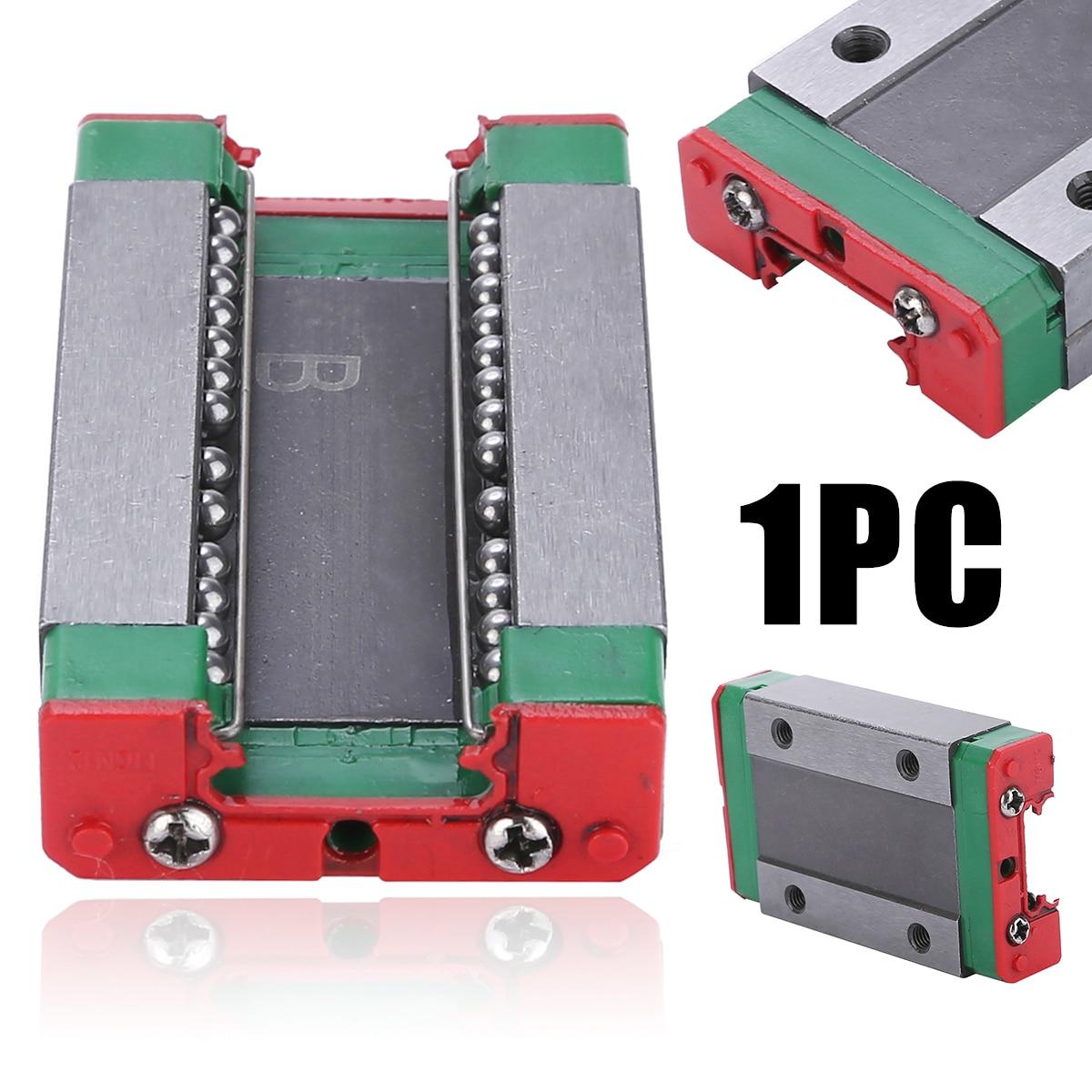1 pçs mgn12h aço deslizante bloco durável linear guia 43x26x10mm para rolamento linear cnc xyz diy