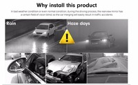 Blind Spot Monitor parking Microwave Radar Blind Spot Safety Warning Sensor Detection change lane buzzer alarm led indicators