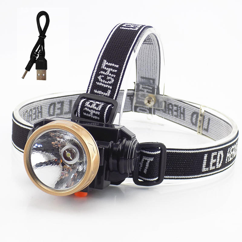5W mini Rechargeable Led Headlamp Flashlight Headlight Small Head Lamp Torch Lights with battery linterna frontal for Fishing yage rechargeable led head lamp lights headlamp on your forehead flashlight head light mini led linterna running headlamp