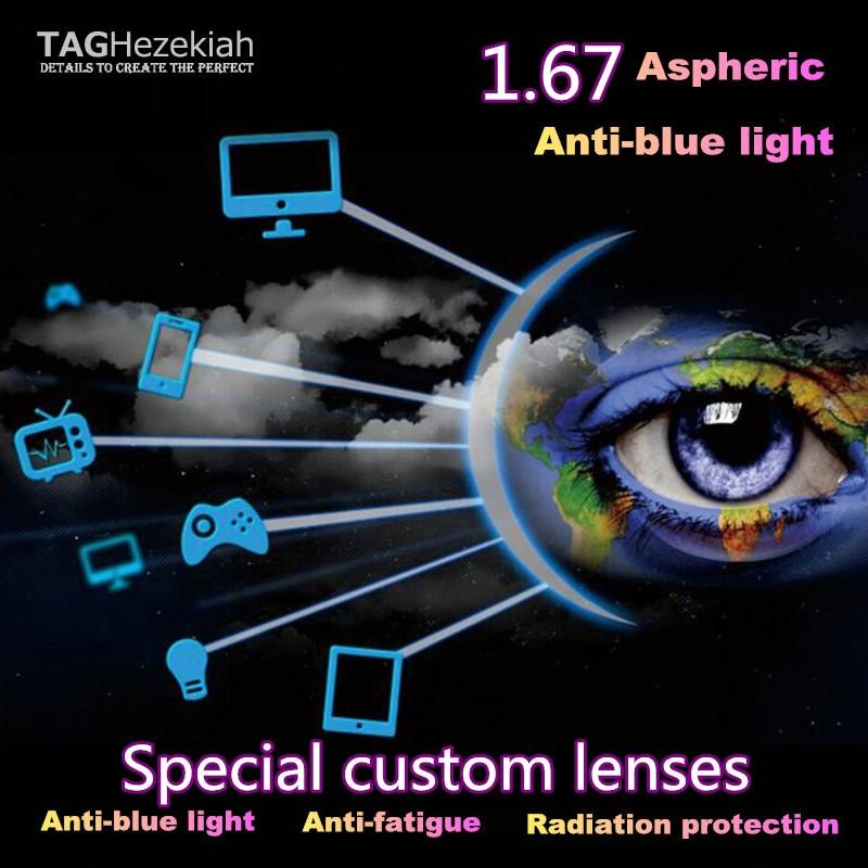 blau Kurzsichtige Linse fatigue Hohe 1 Qualität Computer Objektiv Strahlenresistente Rezept Anti Anti 67 xpq8wIzB