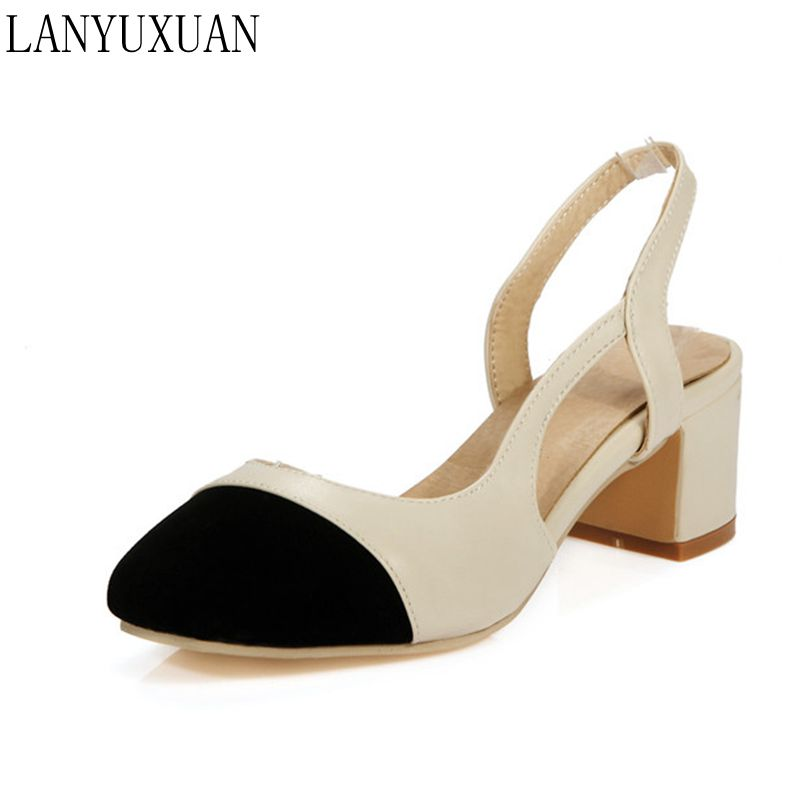 Sandalias Mujer Big Size 34-48 Ladies Shoes Woman Zapatos Mujer Women Chaussure Femme Pumps Sapato Feminino Tacon Valentine 7-2 genuine leather excellent sexy high heels brand women pumps ladies shoes woman chaussure femme zapatos mujer sapato feminino