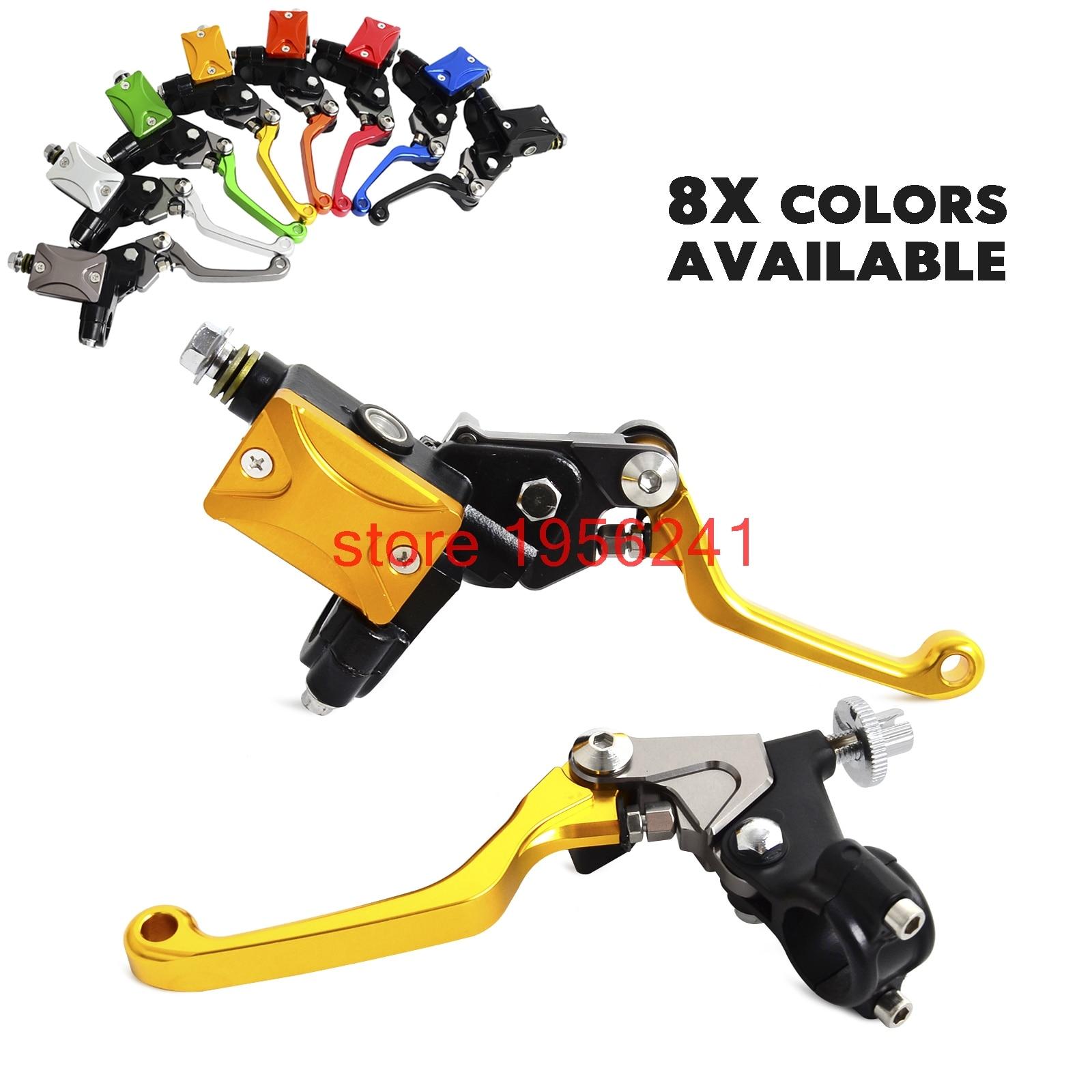 H2CNC Hydraulic Brake & Cable Clutch Lever Set Assembly For Yamaha YZ80 YZ85 YZ125 YZ250 YZ250F YZ426F YZ450F YFZ450 DT230 cnc pivot brake clutch lever for yamaha yz125 yz250 2008 2014 yz250f yz450f 2007 2008 motorcycle dirt bike yz 125 250 250f 450f