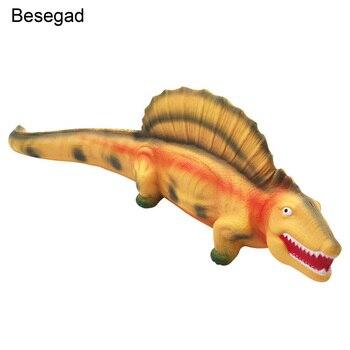 Besegad Jumbo blanches dinosaurio juguete de apretón lento para niños adultos alivio estrés ansiedad accesorios de decoración del hogar
