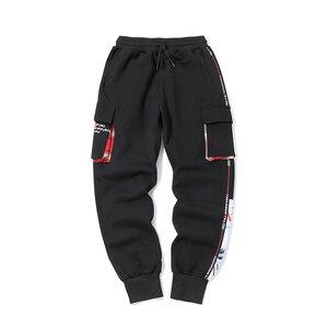 Image 2 - Hip Hop Pants Men Cotton Pattern Joggers