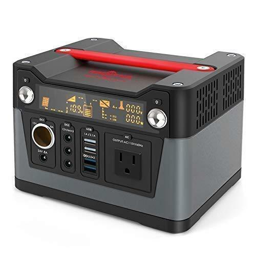 Portable Power Station Solar Generator Supply 300W Inverter Energy Storage