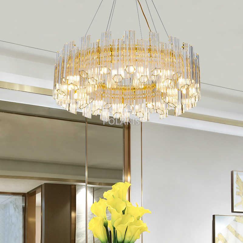 Светодиодный хрустальные люстры Стекло люстры лампы кулон висит свет жизни Обеденная освещение Home Hotel Освещения