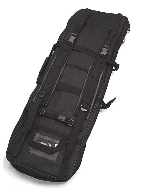 Campcookingsupplies Charitable 40 Dual Rifle Gun Bag Tactical Rifle Sniper Carrying Case Gun Bag Bk
