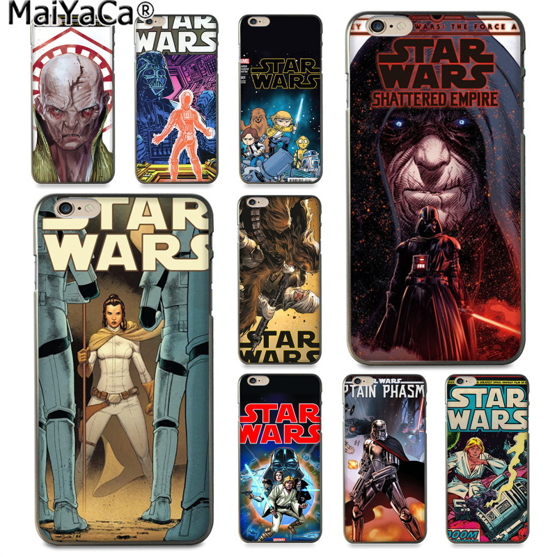 MaiYaCa star wars marvel comics DIY Printing Drawing Phone Case cover Shell for iphone 11 pro 8 7 66S Plus X XS MAX 5S SE XR image