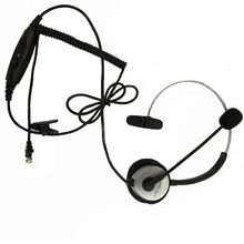 popular rj11 headsets buy cheap rj11 headsets lots from china rj11 Surface Mount Phone Jack rj11 telephone headset noise cancel earphone auriculares adjustable volume for desk phones with microphone for walkie talkie