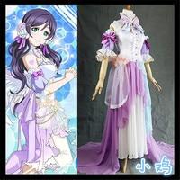 Anime Love Live! Lovelive Nozomi Tojo White Valentine's Day Angels Awakening Cosplay Costume Full Set