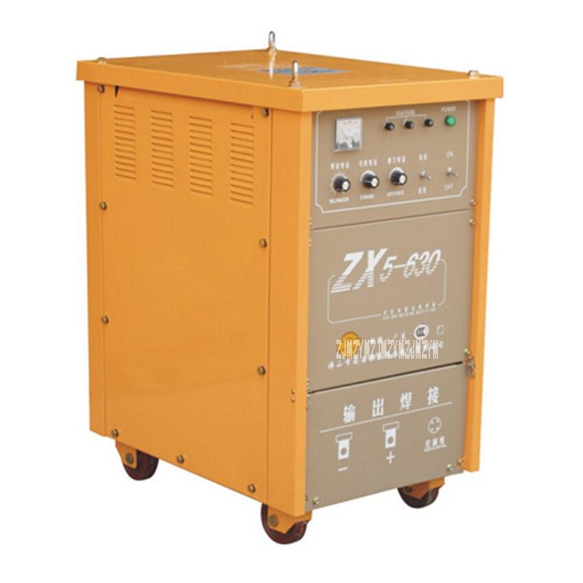 Soudeuse industrielle d'arc de cc de redresseur de silicium d'équipement de soudure électrique de ZX5-630 3-phase 380 V 50/60Hz 80-630A 35%