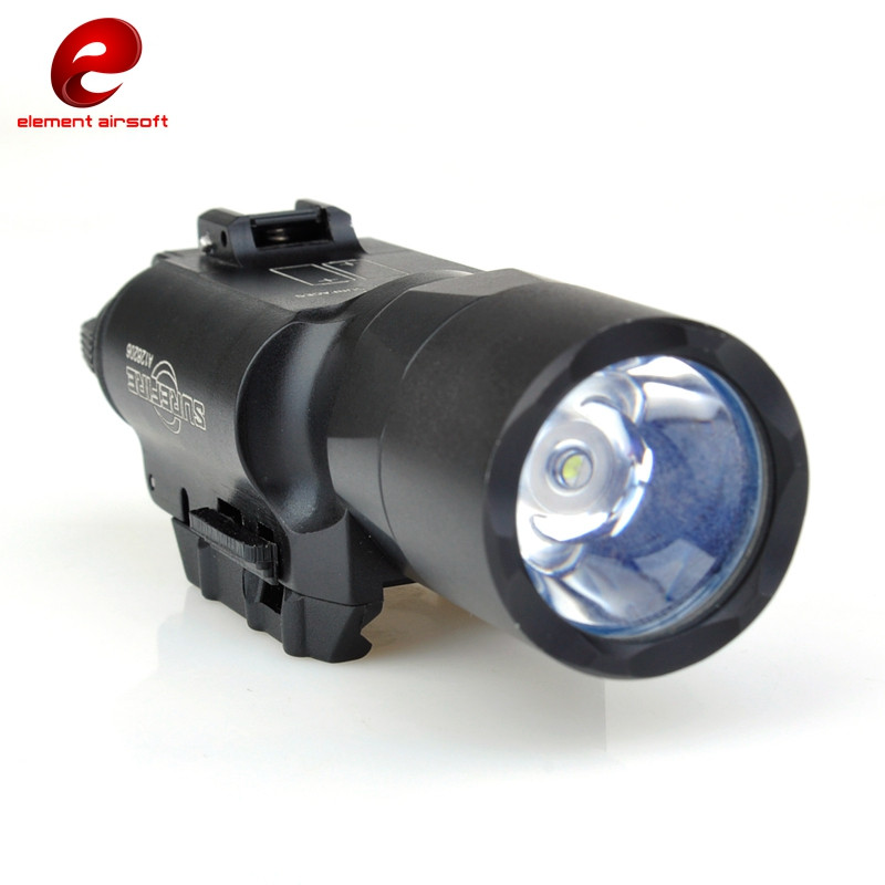 Element Airsoft Tactical Searchlight 200 Lumens White Light Fits Pistols or Rifles Weapon Lights Equipment for Airsoft Hunting