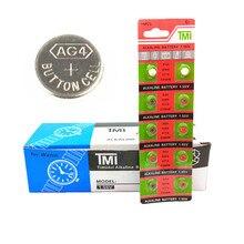 10 шт./лот(1 карта) прочная батарейка AG4 377A 377 LR626 SR626SW SR66 LR66 кнопочная батарейка для часов