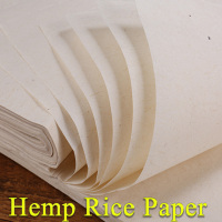 Top Chinese Hemp paper Hand made Traditional rice paper for painting calligraphy artist supplies