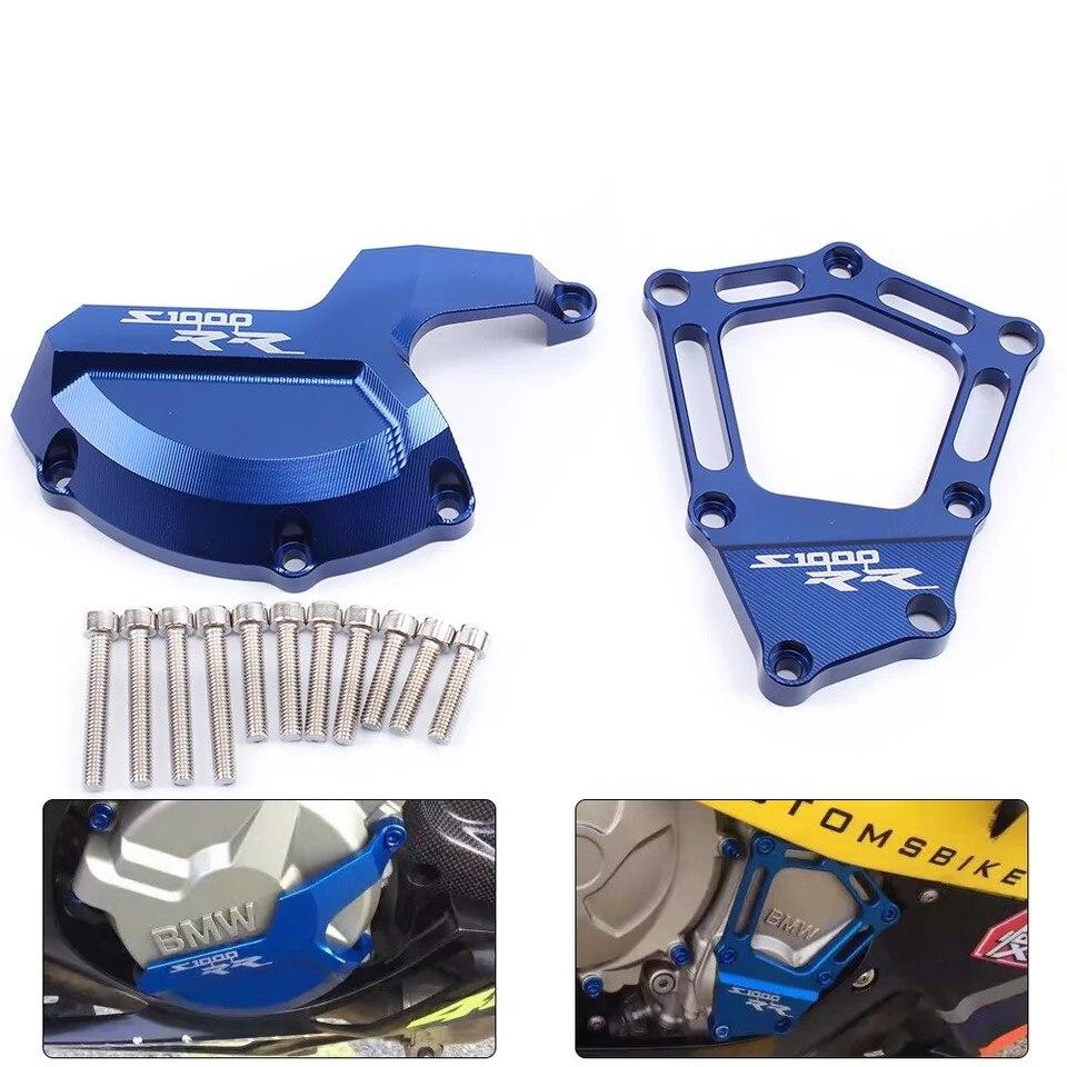 For BMW S1000RR S 1000 RR 2009 2010 2011 2012 2016 HP4 K42 K46 Motorcycle Engine Saver Stator Case Guard Cover Slider Protector|Engine Bonnet| |  - title=