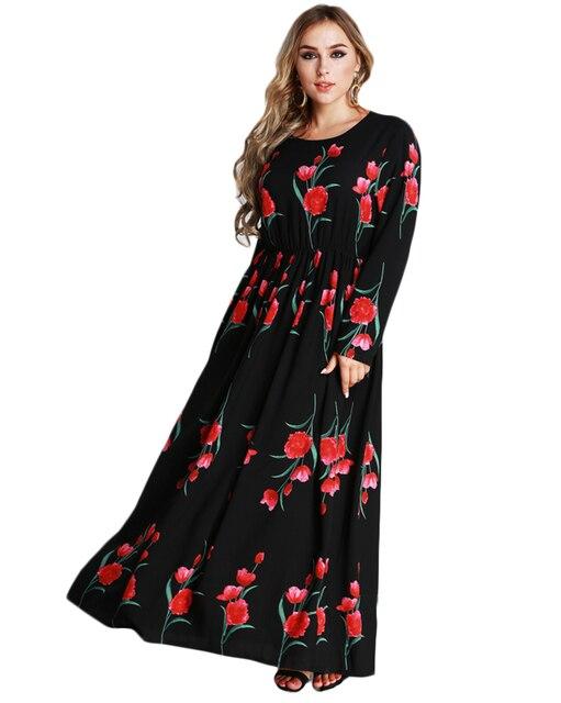 Plus Size Maxi Dress Fall