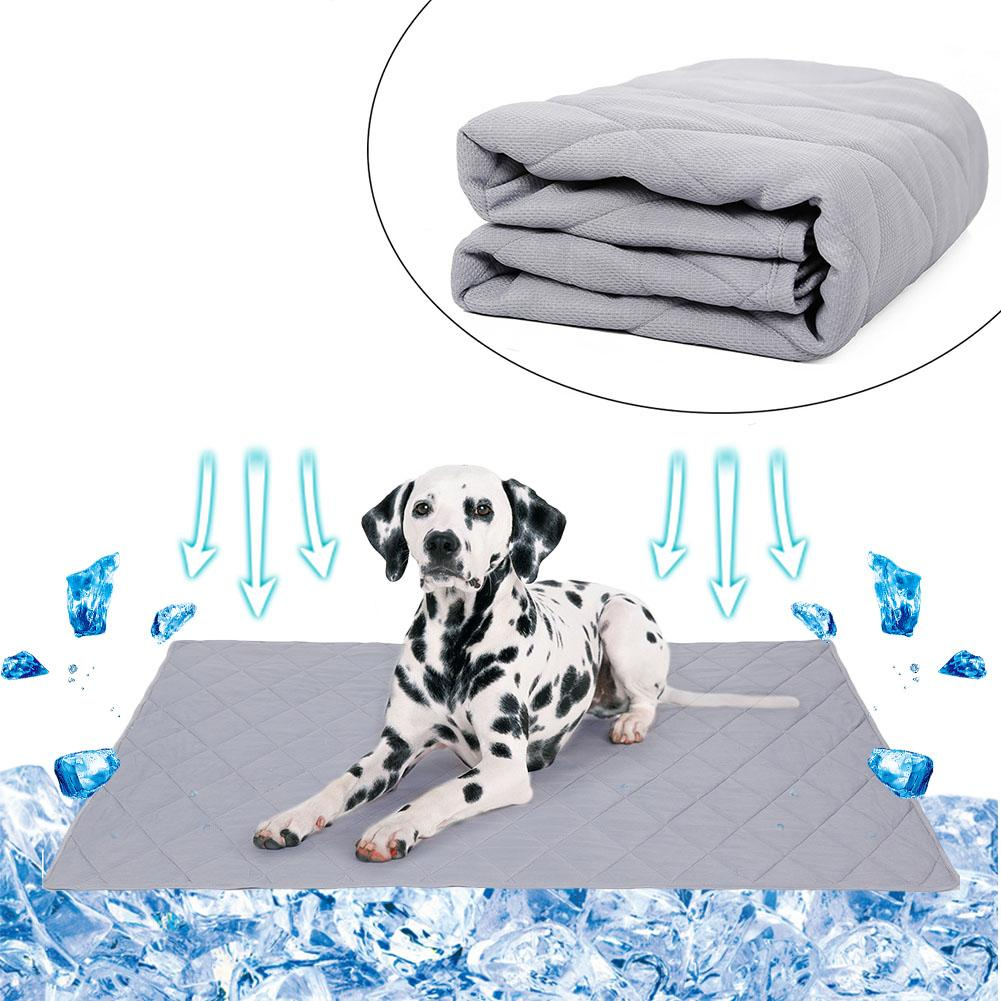 Pet Cooling Pad Summer Dog Cooling Blanket Cat And Dog Ice Silk Sleeping Mat Self Cooling Pad Floor Sofa Car Seat Kennel BedPet Cooling Pad Summer Dog Cooling Blanket Cat And Dog Ice Silk Sleeping Mat Self Cooling Pad Floor Sofa Car Seat Kennel Bed