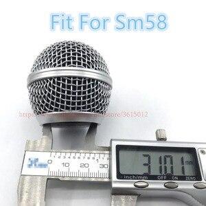 Image 4 - 6 Cái/lốc Chuyên Nghiệp Replacementmicrophone Dạng Lưới Tản Nhiệt Bóng Đầu Lưới Phù Hợp Với Shure Sm58 Sm58sk Beta58 Beta58a