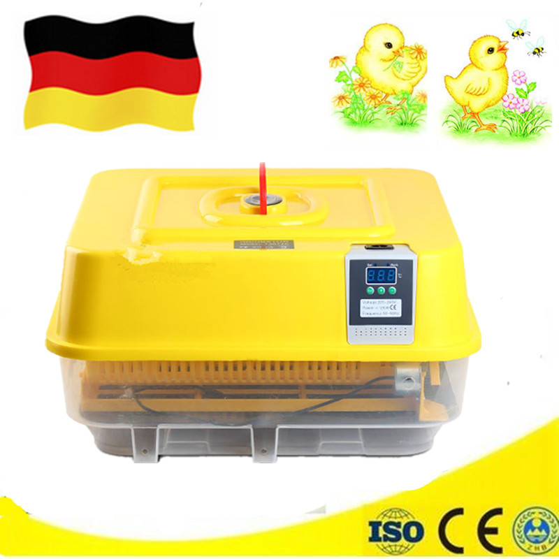 Automatic Digital Clear Hatchers Mini Family 39 Chicken Eggs Incubator Tray Hatching Tool Small Electric Brooder mini home use eggs incubators chicken digital eggs turner hatchers hatching tray machine equipment tool