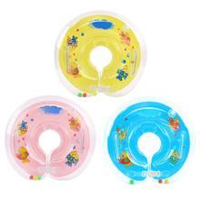 Детский Надувной Плавательный круг новорожденных круг для купания детский плавательный круг для шеи надувные колеса бассейн плоты летние игрушки плавание ming аксессуары