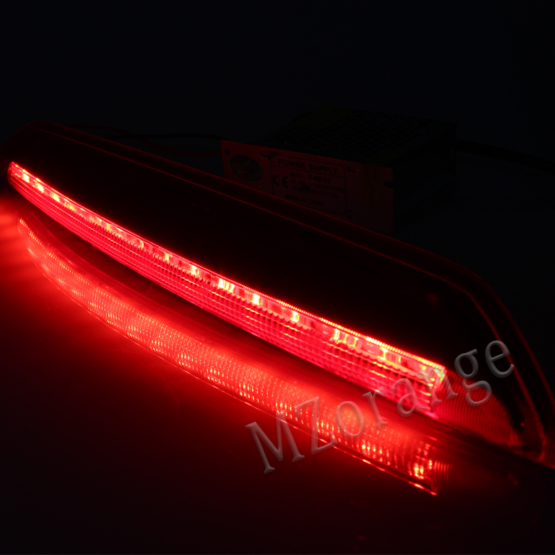 Купить с кэшбэком High-Mount Stop Brake light For Volkswagen For VW Polo 9N 2002 2003 2004 2005 2006 2007 2008 2009 2010 Third Brake Tail Lights