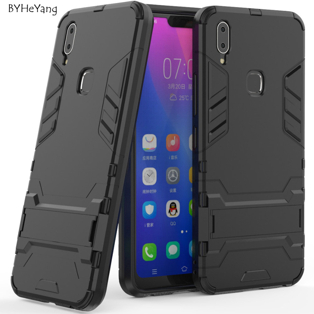 For vivo Y83 Pro Case For vivo Y83Pro Cover Shockproof Robot Silicone Rubber Hard Back Phone Cover For vivo Y83 Pro Fundas Capa