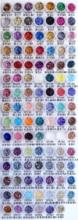 Nail 1 Jar/Box 10ml 3D Nail 4 Mix Smoke Black Mix Nail Glitter Powder Sequins Powder Manicure Nail Art Dust Decoration 4-18